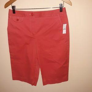 NWT Talbots walking shorts. Size 4. 3/$25 sale